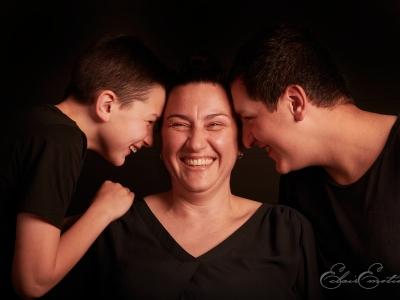 Cécile & sa famille